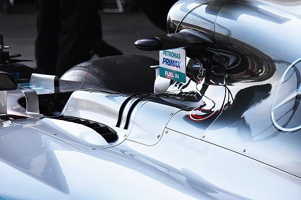 Extra kopoltyúk jelentek meg a Mercedesen