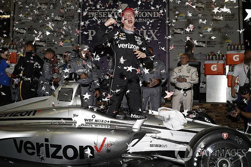 IndyCar у Фініксі: Ньюгарден здобув тактичну перемогу