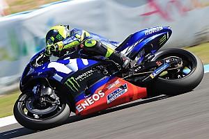 MotoGP Reaktion Valentino Rossi beim Test nur Zehnter: