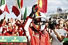 Llueven felicitaciones para Vettel y Ferrari en redes sociales