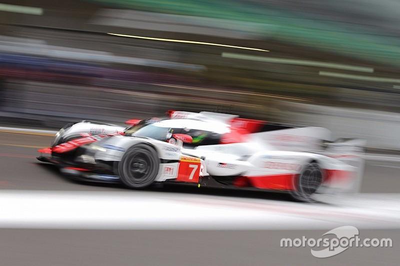 Toyota lidera los entrenamientos del viernes del WEC en Shanghai