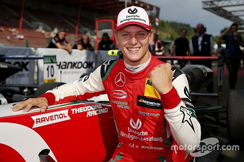 """Mick Schumacher """"living the dream"""" by taking F3 title"""