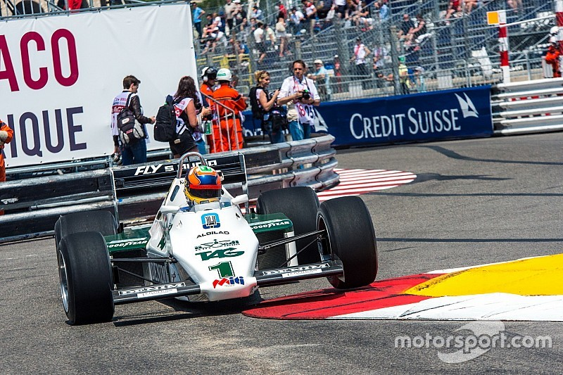 Blasting around Monaco in a classic Williams