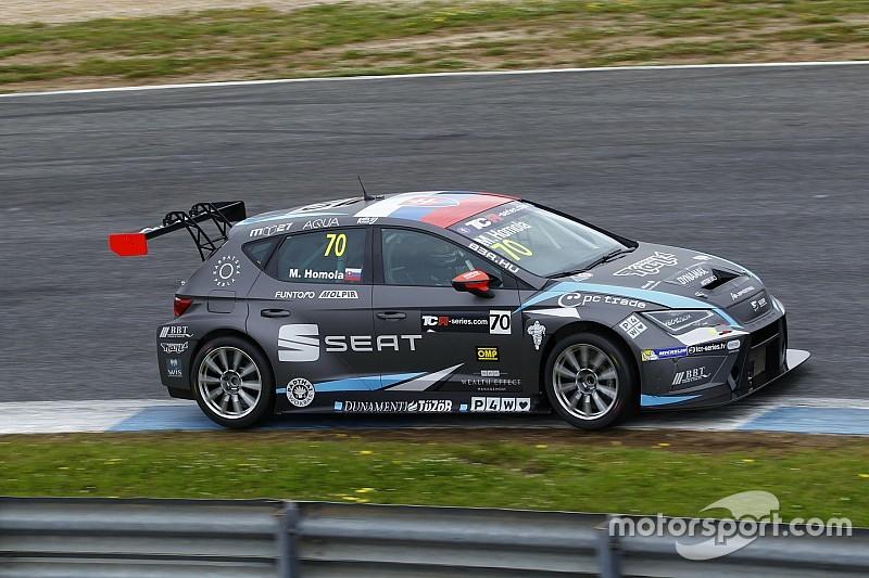 Homola centra la sua prima pole position all'Estoril