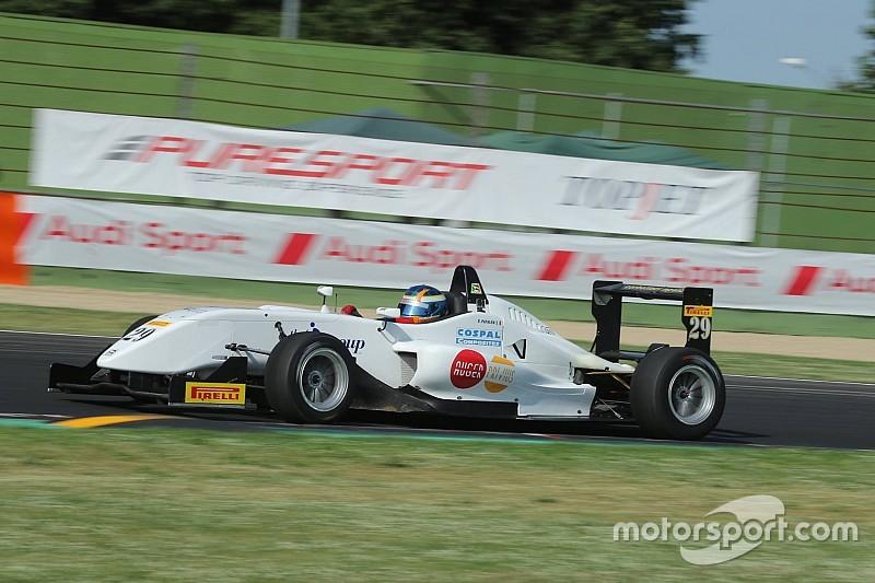 F2 Italian Trophy: Papaleo conquista il successo in Gara 1