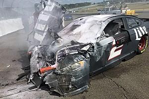 NASCAR Cup Testing report Keselowski walks away from big testing shunt at Watkins Glen