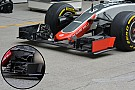 Bite-size tech: Haas VF16 front wing changes