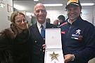 CIR Paolo Andreucci riceve la stella per il decimo titolo CIR