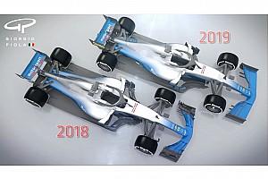 2019年F1マシンはこう変わる? レース改善目指して空力規則を改訂へ
