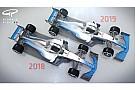 F1 2019年F1マシンはこう変わる? レース改善目指して空力規則を改訂へ