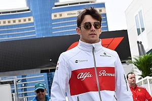 Leclerc encontró la F1