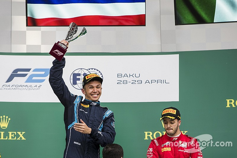 Albon: Mixing it with F1 juniors could open doors