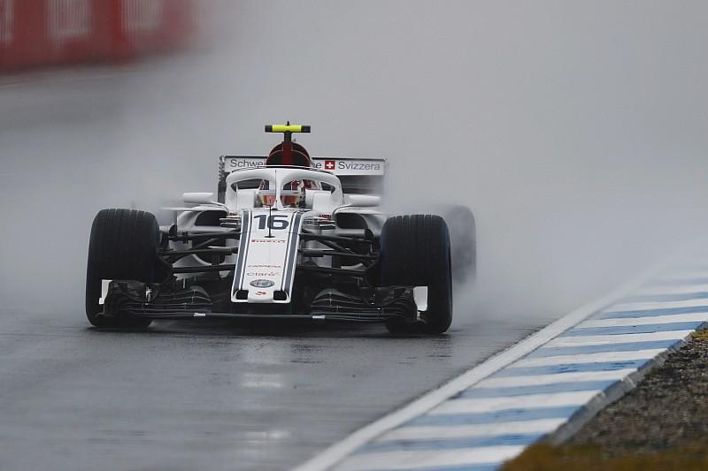 Hockenheim, Libere 3: sul bagnato svettano i due Sauber, Leclerc e Ericsson