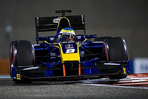 FIA F2 Rennbericht Formel 2 Abu Dhabi 2017: Kurioses Prema-Finish bei Rowland-Sieg