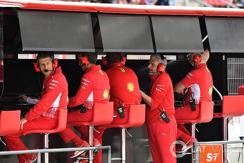フェラーリ、レスタの後任に3名のスタッフを起用。責任分担が狙い