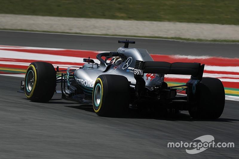 西班牙大奖赛FP2:汉密尔顿重返榜首,莱科宁遭疑似动力单元故障