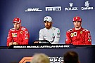 Formula 1 Australian GP: Post-qualifying press conference