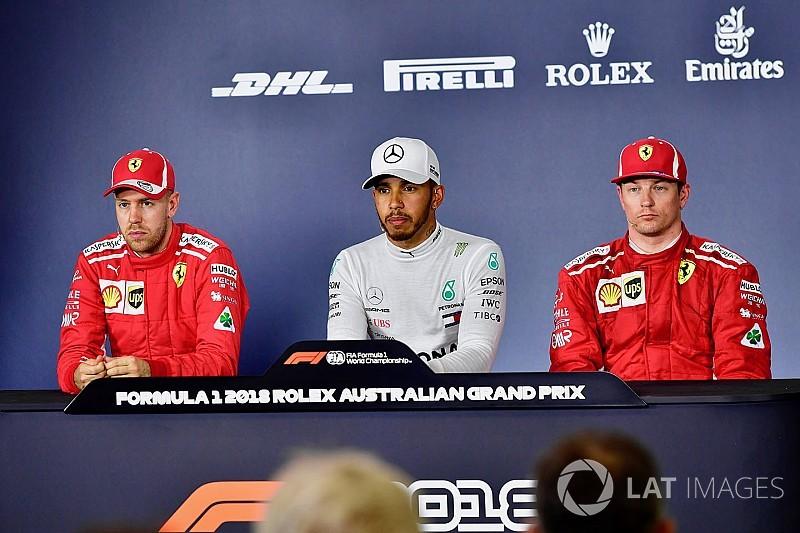 Një shaka e ftohtë për Vettel nga Hamilton