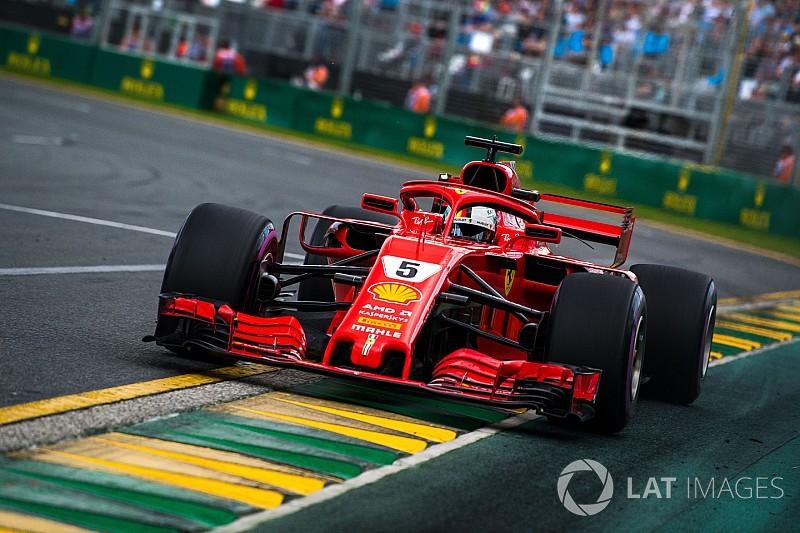 "Vettel pas encore ""maître à bord"" de la Ferrari SF71H"
