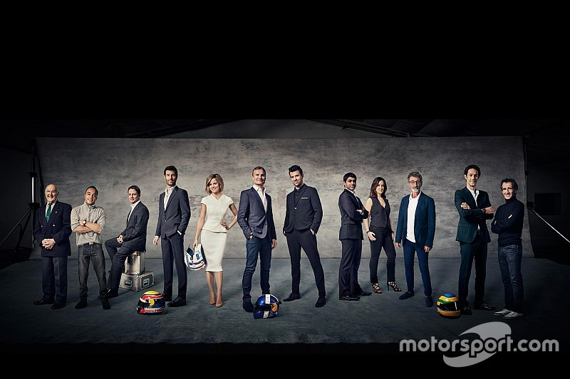 Channel 4 reveals Formula 1 coverage team