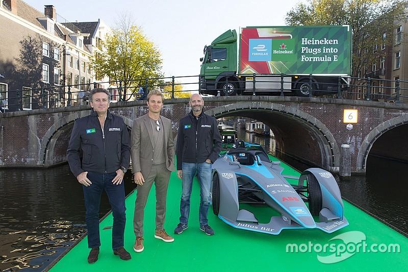 Partenaire majeur de la F1, Heineken arrive aussi en Formule E