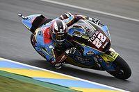 Moto2フランス決勝:ロウズが難コンディション乗り切って今季初優勝。長島下位に沈む