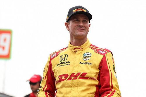 """Hunter-Reay remaining """"all smiles"""" before Andretti swansong"""