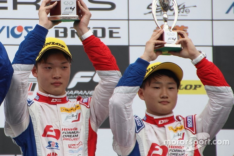 名取鉄平のFIA F3参戦が発表。角田裕毅と共にF1昇格を目指す
