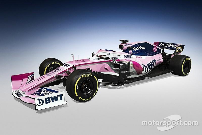 Racing Point представила нового титульного спонсора та болід Ф1 2019 року