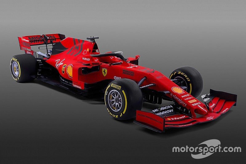 ferrari launches its 2019 formula 1 car
