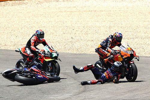 Oliveira disputes Binder's account of Turn 1 KTM clash