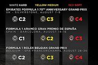 Анонс Гран При по случаю 70-летия Формулы 1: шины, моторы, штрафные баллы