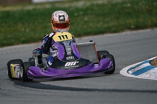 Rafa Câmara é segundo na etapa francesa do Europeu de Kart e mantém a liderança do campeonato