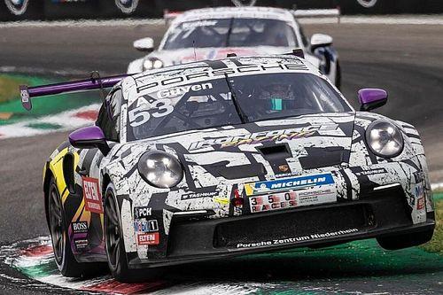 Porsche Carrera Cup Almanya: Monza'daki ilk yarışı Ten Voorde kazandı, Ayhancan üçüncü oldu