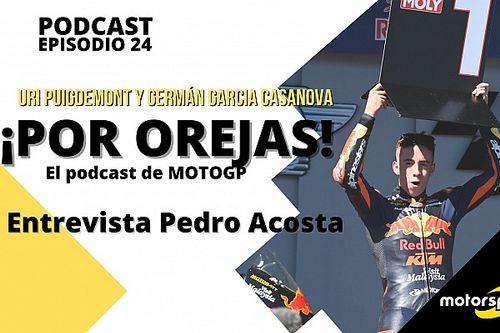 """Podcast 'Por Orejas' - Acosta: """"Estoy liderando un Mundial que no me toca"""""""