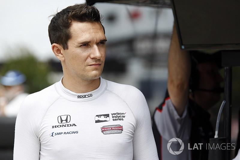 Wickens tomará el lugar de Aleshin en IndyCar por problemas de visado