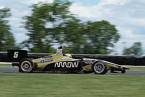 Indy Lights Crónica de Clasificación Urrutia logra la pole para la carrera 1 de Mid-Ohio