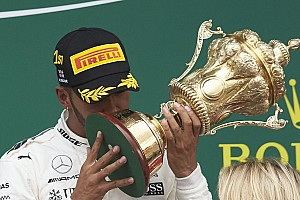 Formula 1 Top List Best of British: How Lewis Hamilton celebrated Silverstone success
