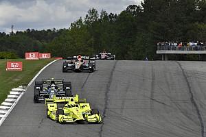 IndyCar Réactions Pagenaud troisième malgré un contact avec Newgarden