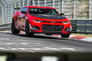 Automotive Breaking news Watch the Chevrolet Camaro ZL1 1LE lap the Nurburgring in 7:16