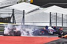 Formula 1 Kvyat's start aggression created