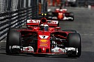 Formula 1 Downbeat Raikkonen says second