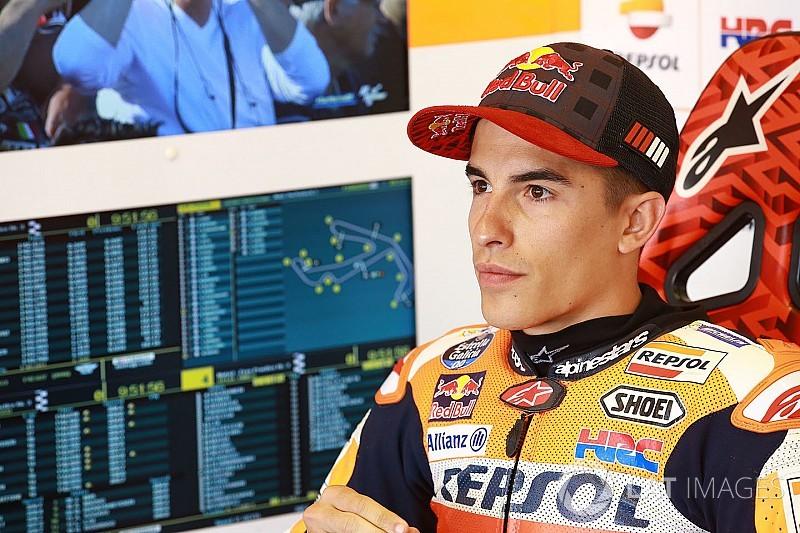 Marquez sedih disoraki fans saat terjatuh