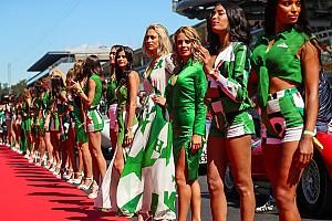 Fórmula 1 Noticias Checo Pérez sobre las chicas de la parrilla: