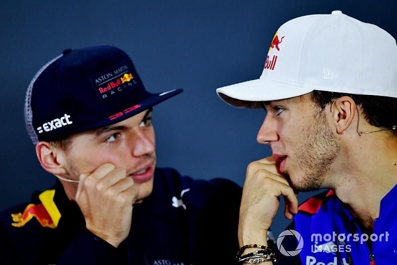 Gasly dice que Verstappen es la