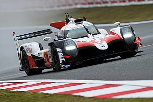 Shanghai WEC: Toyota heads rain-affected first practice