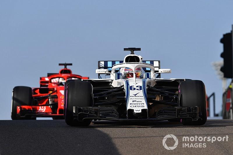 """F1-rookie Russell: """"Ik ben voor niemand bang"""""""