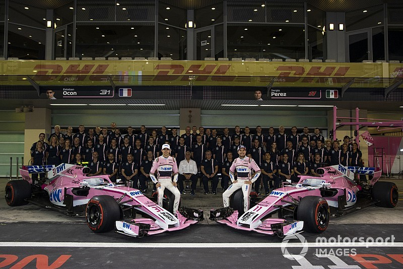 Force India name vanishes from F1 for 2019