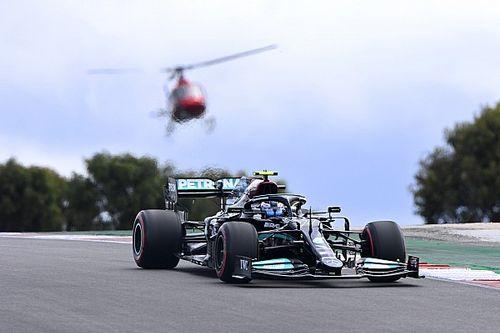 葡萄牙大奖赛排位赛:博塔斯力压汉密尔顿摘下个人本赛季首杆
