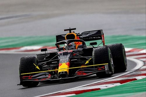 Cómo Red Bull se equivocó con el alerón delantero de Verstappen